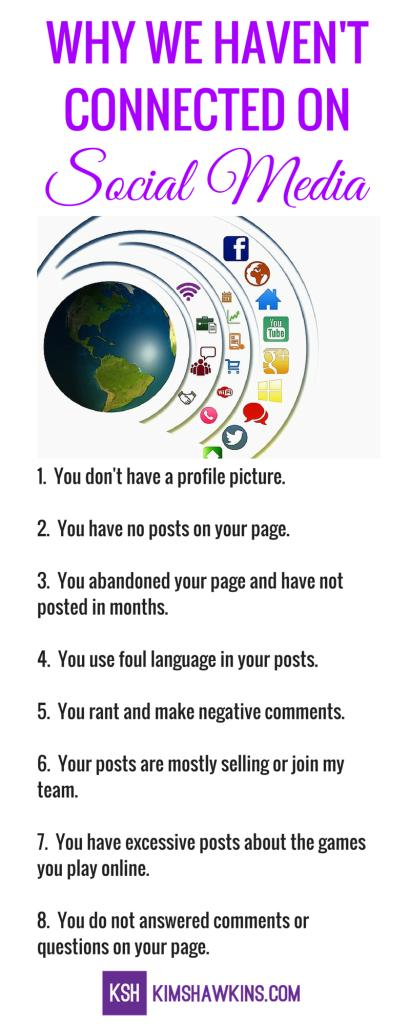 Social Media Mistakes Infografic