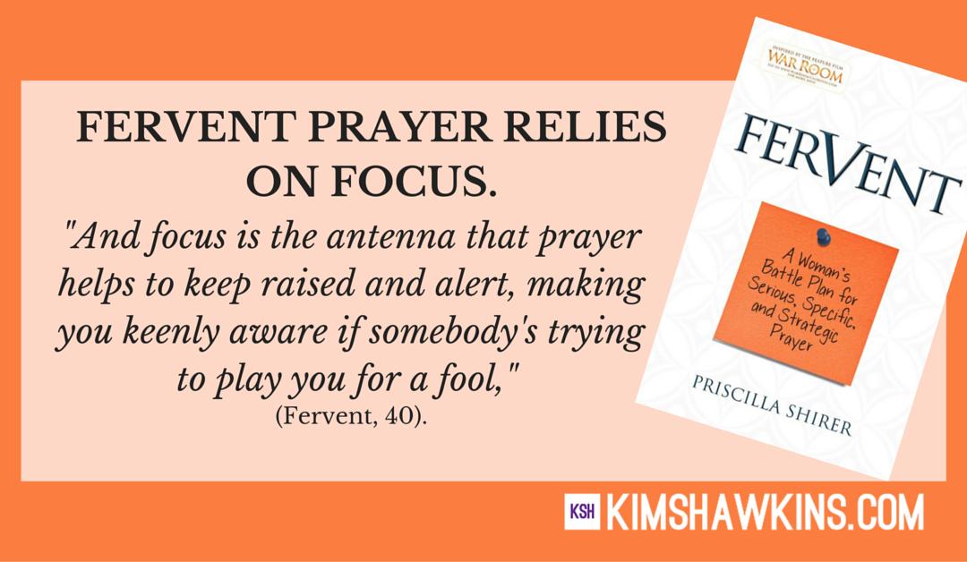 Week Three:  Your Focus