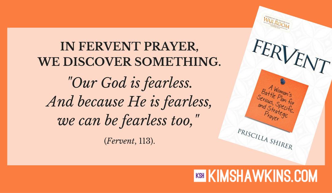 Week Seven:  Your Fears